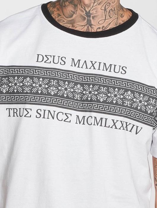 Deus Maximus T-Shirt Louis III blanc