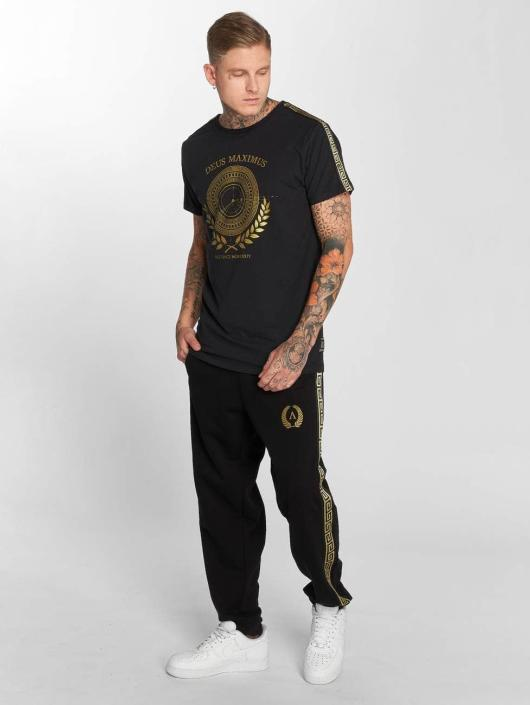 Deus Maximus T-Shirt Odysseus noir