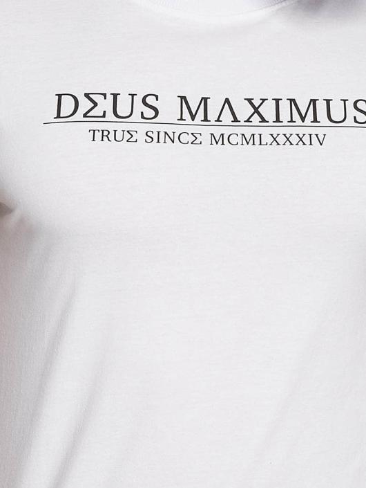 Deus Maximus T-Shirt Tanatos weiß