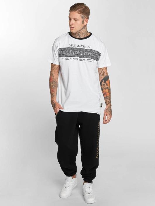 Deus Maximus t-shirt Louis III wit