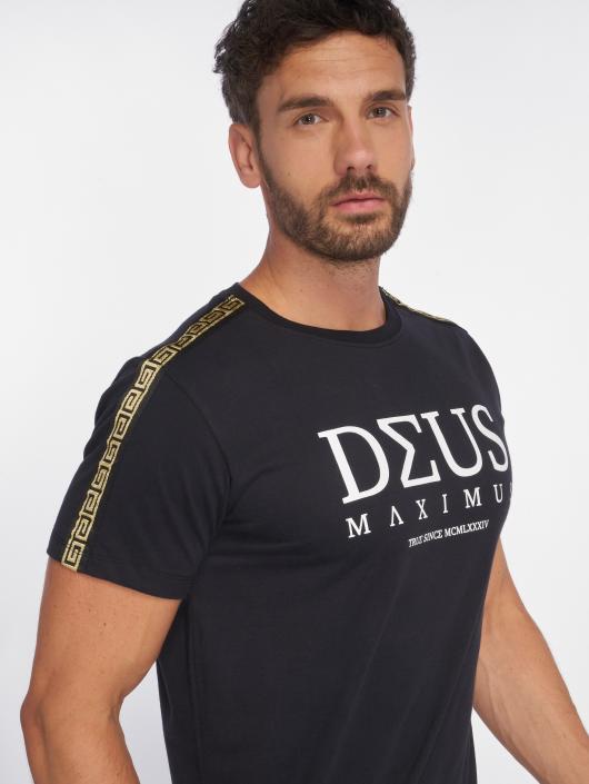 Deus Maximus T-Shirty NEMEAEUS czarny