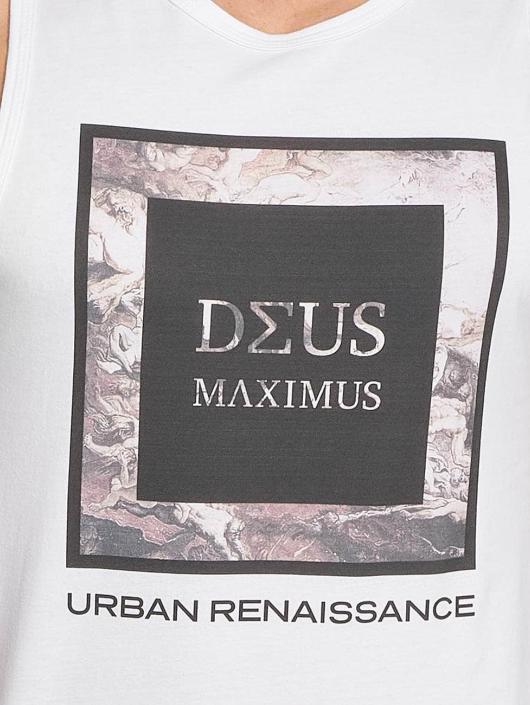 Deus Maximus Tank Tops Fiori hvit