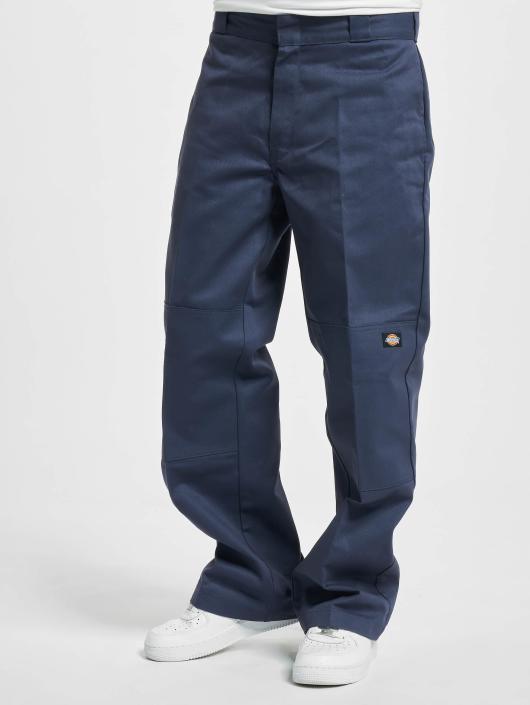 Dickies Cargo Nohavice Double Knee Work modrá