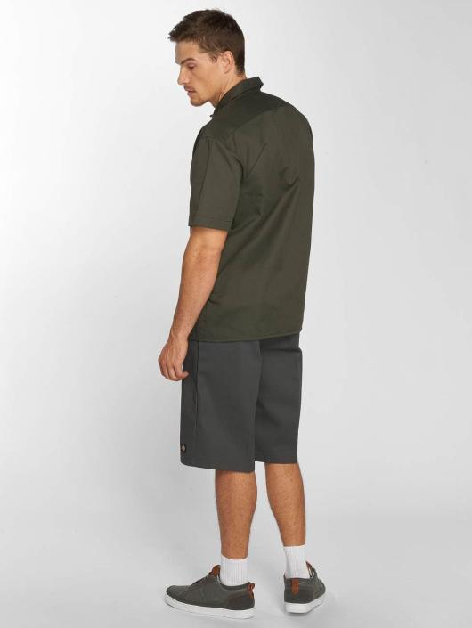 Dickies Košele Shorts Sleeve Work olivová