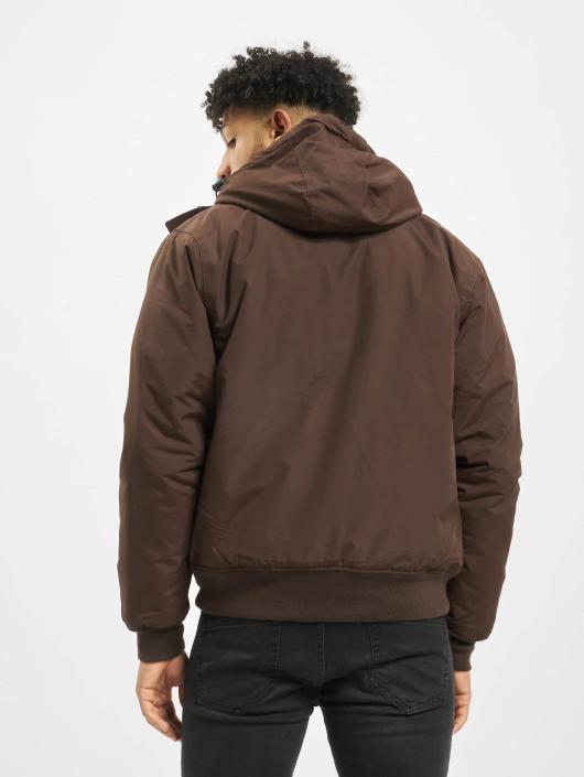 f9682e541c404 Dickies   Cornwell brun Homme Manteau hiver 134235