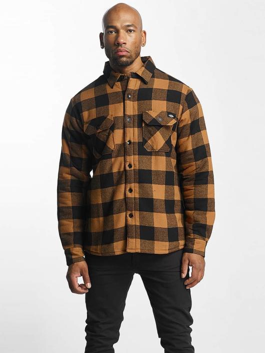 Dickies overhemd Lansdale bruin