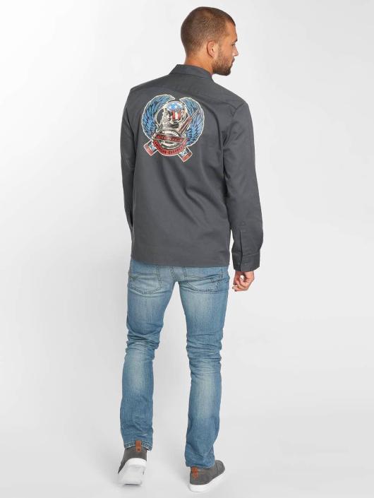 Dickies overhemd Mentone grijs