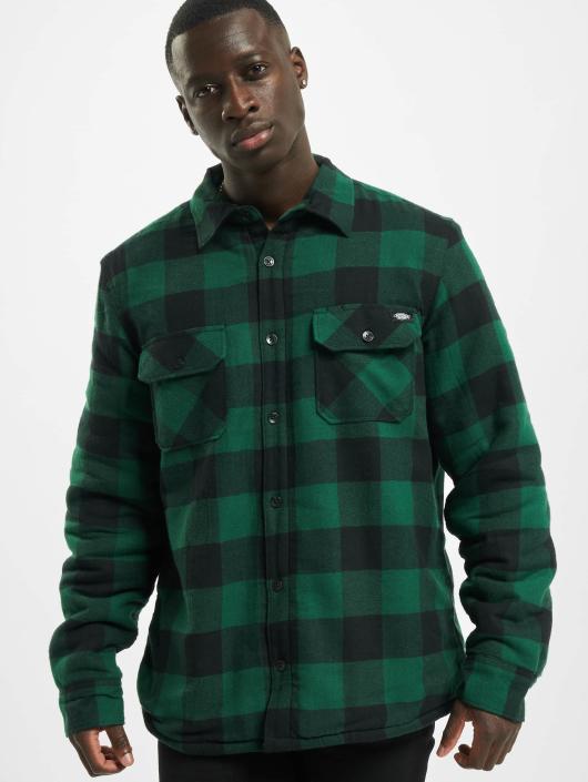 Overhemd Mintgroen.Dickies Bovenstuk Overhemd Lansdale In Groen 420285