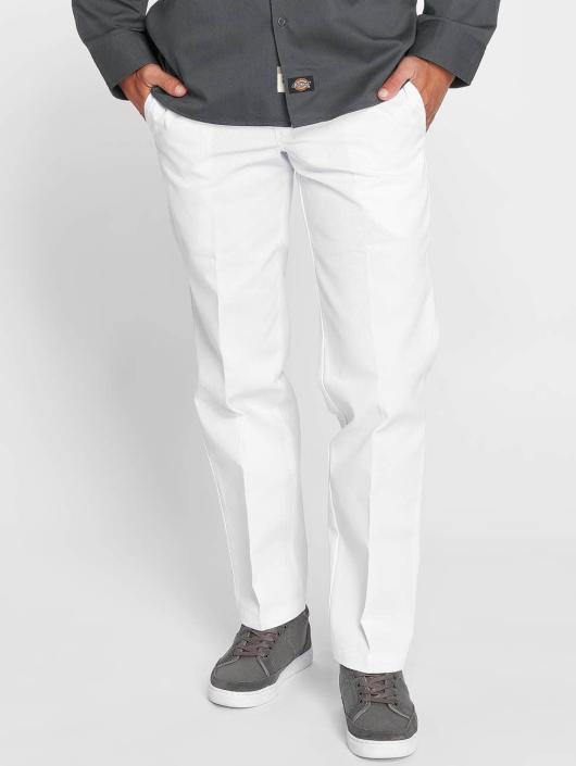 Dickies   Slim Straight Work blanc Homme Pantalon chino 477864 9a4bb022994a