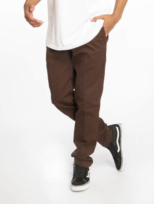0477caae4ce8 ... Dickies Pantalon chino Slim Fit Work brun ...