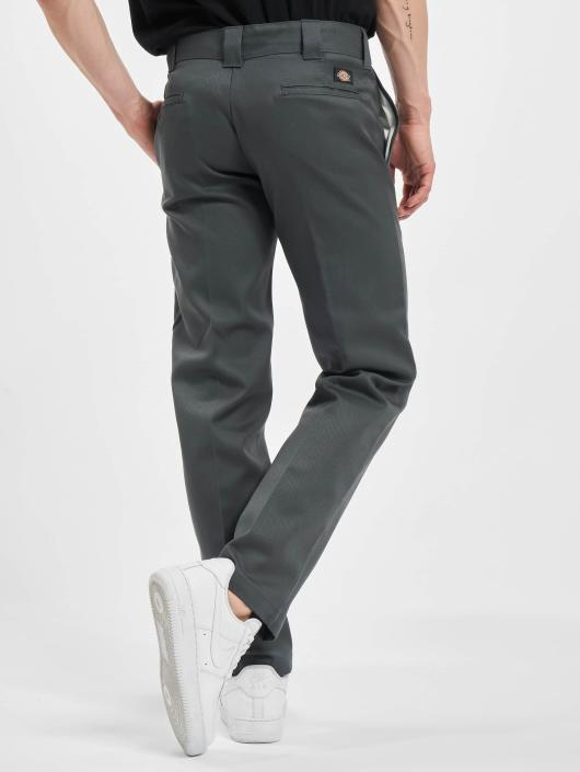 Straight Slim Work Chino Gris Homme 57954 Pantalon Dickies ZTzw17xq1
