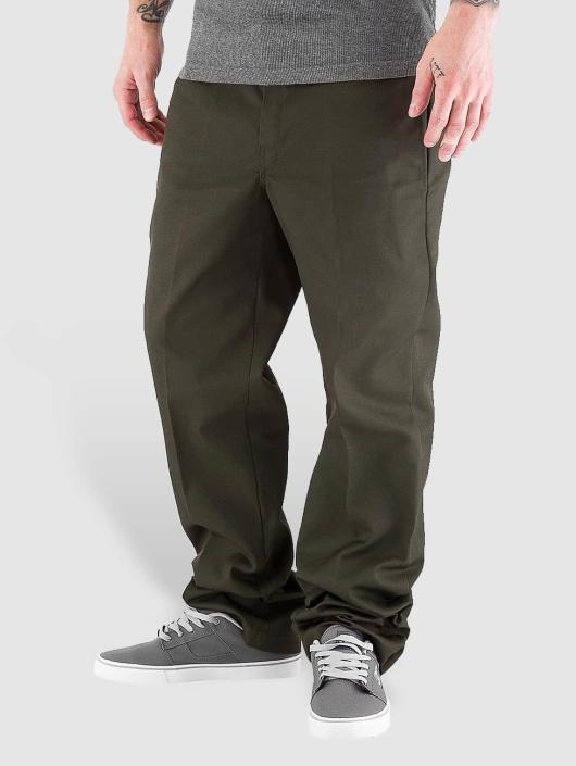 Dickies Pantalon chino Slim Straight Work vert