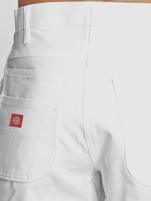 Dickies Shorts 10 Inch Painters Utility hvit