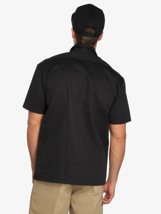 Dickies Skjorter Shorts Sleeve Work svart