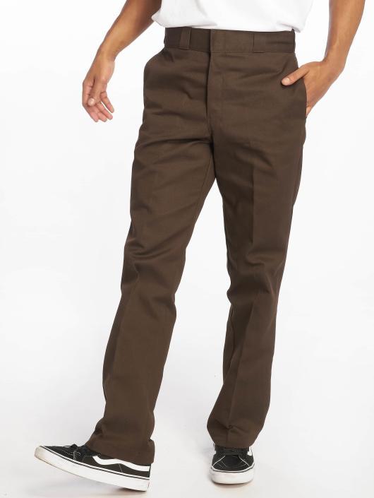 Dickies Spodnie wizytowe Original 874 Work brazowy