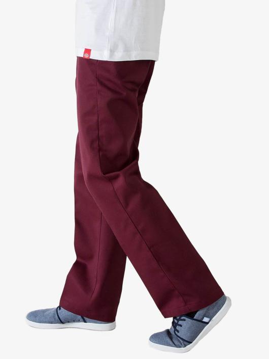 Dickies Spodnie wizytowe Original 874 Work czerwony