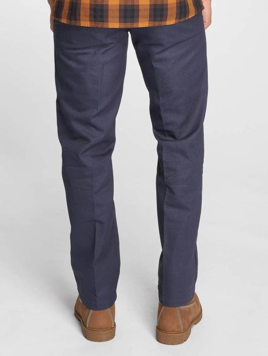 Dickies Spodnie wizytowe Cotton 873 niebieski