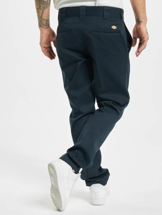 Dickies Stoffbukser Slim Fit Work blå