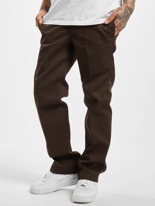 Dickies Stoffbukser Slim Straight Work brun