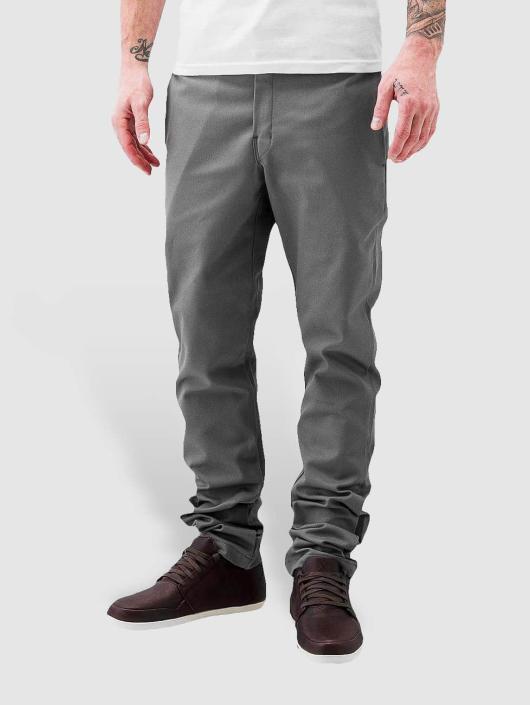 Dickies Stoffbukser Slim Skinny Work grå