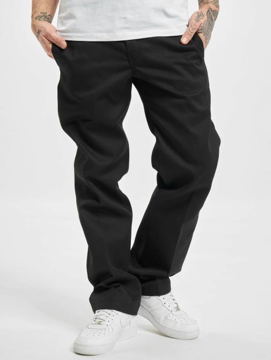 Dickies Stoffbukser Slim Straight Work svart