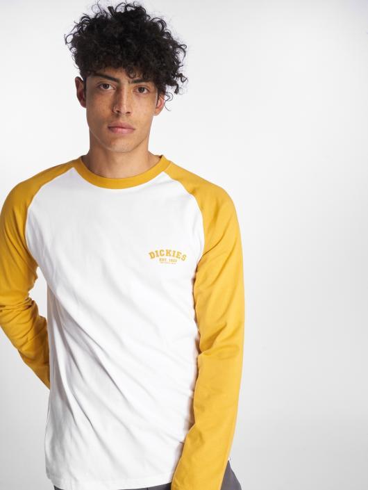 8ecec5f24b7d ... Dickies T-Shirt manches longues Baseball jaune ...