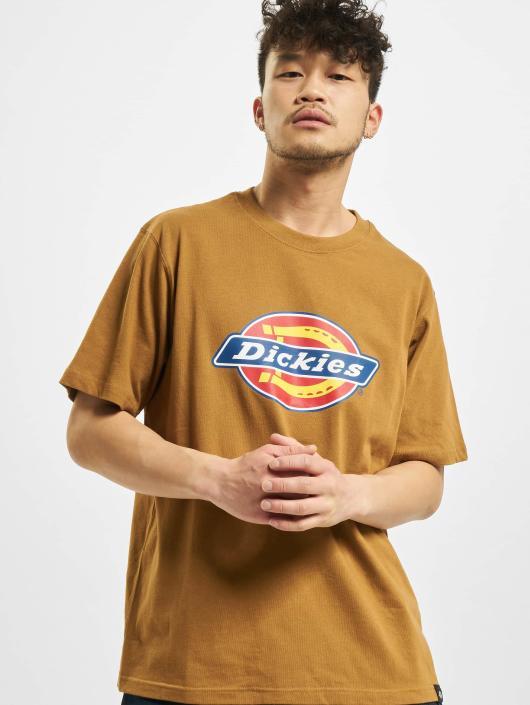 Dickies T-Shirty Horseshoe brazowy