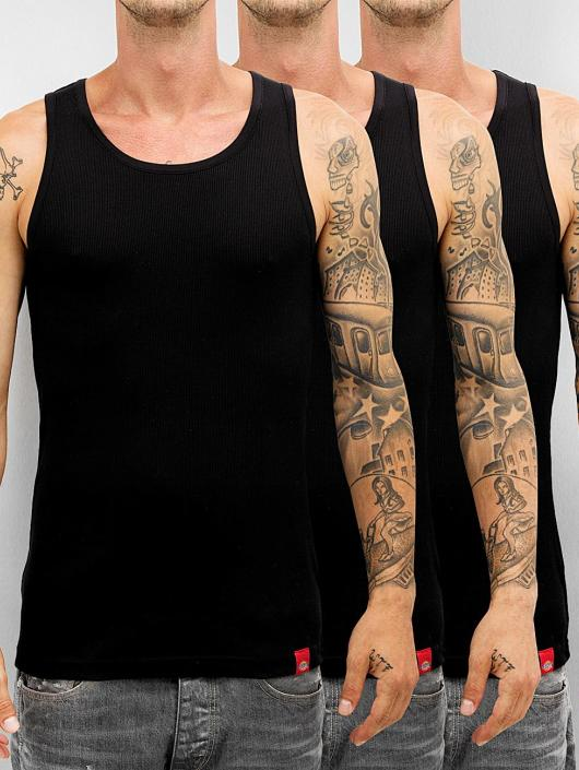 Dickies Tank Tops Proof 3er-Pack black