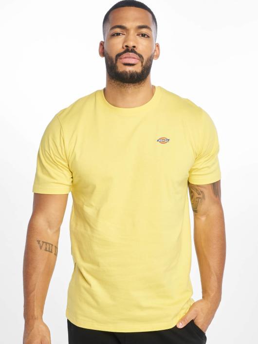 Dickies Tričká Stockdale žltá