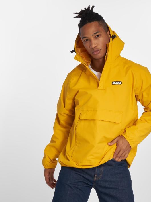 Veste jean jaune homme