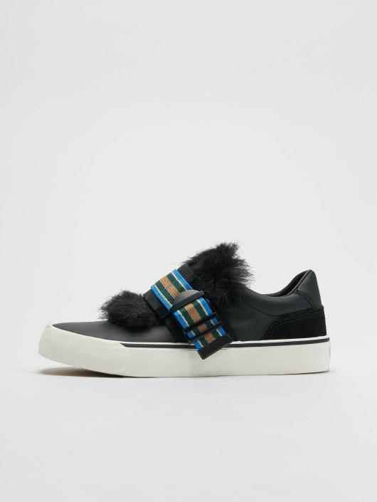 Diesel Sneaker 355 Flip Low Buckle schwarz