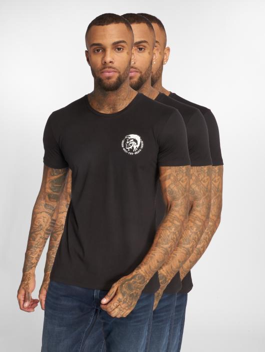 Diesel T-Shirt Umtee 3-Pack black