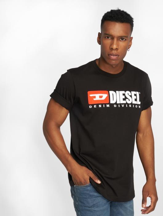 29fbc1bed110cd Diesel Herren T-Shirt T-Just-Division in schwarz 533477