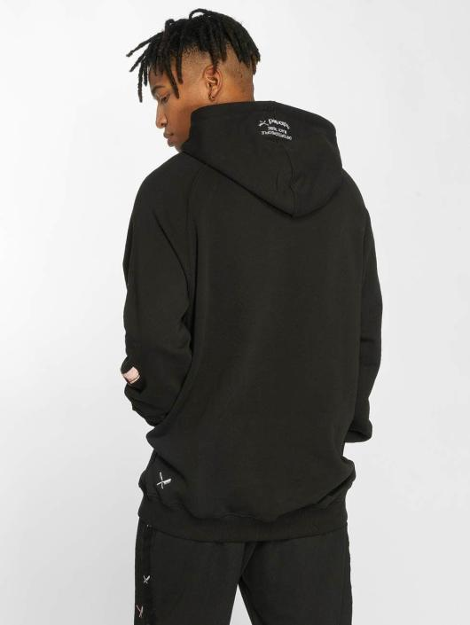 Distorted People Hoody People Black Tribe zwart