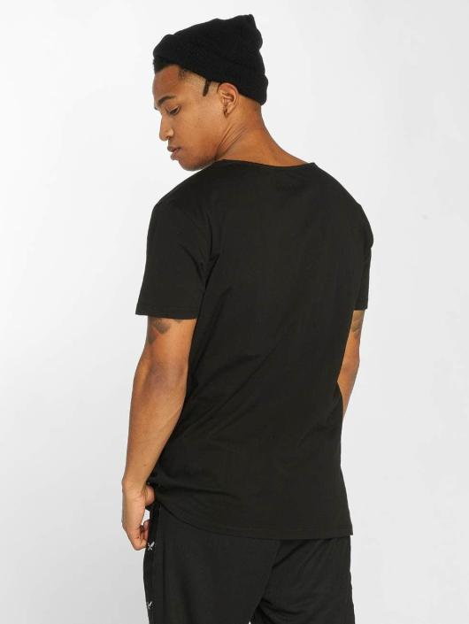Distorted People T-shirt Cutted nero