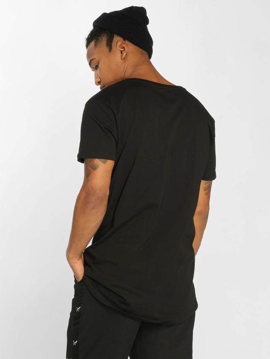 Distorted People T-shirt Grand nero