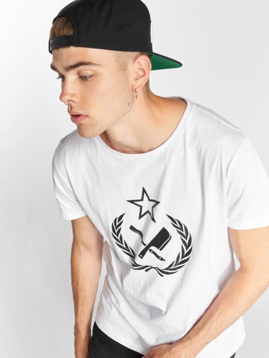 Distorted People T-skjorter People Russian Blades Grand hvit