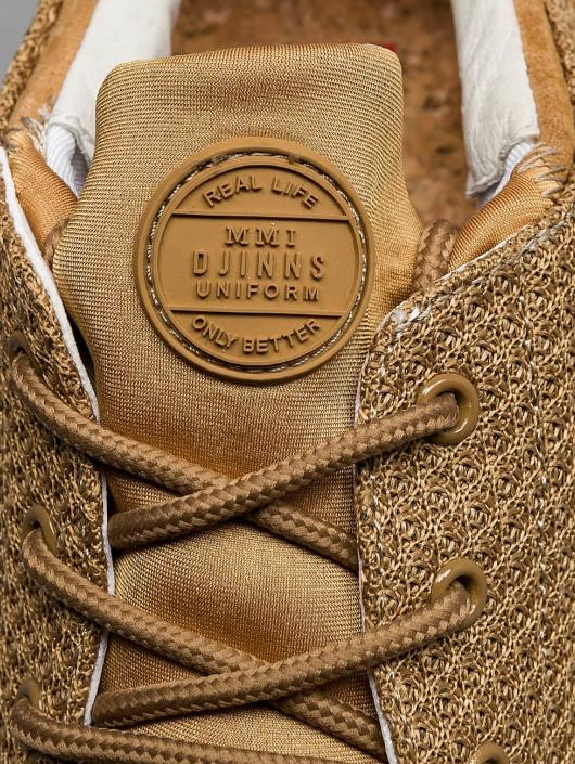 Djinns Baskets Lau Run Mesh & Skin beige