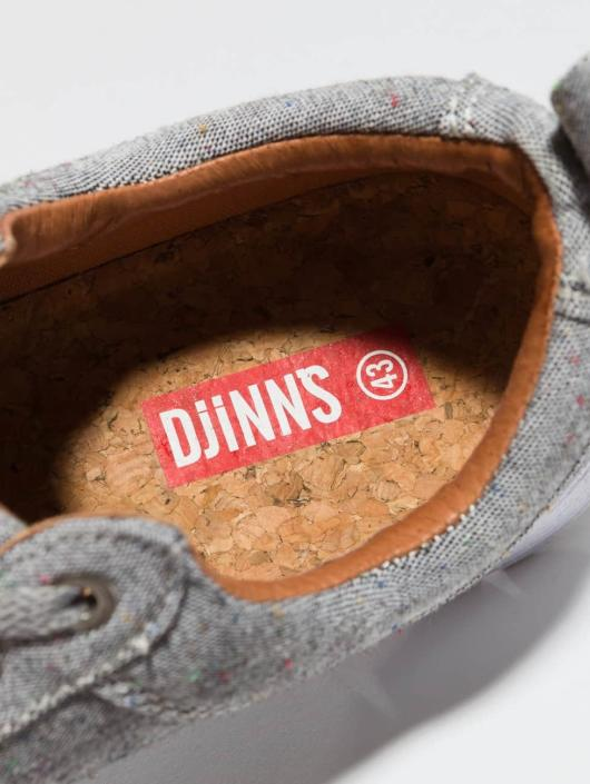 Djinns Baskets For Low Spotted Linen gris