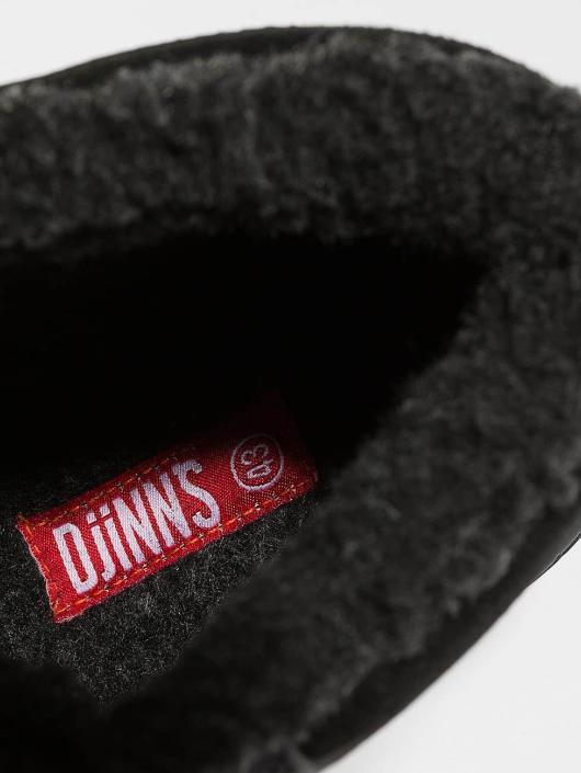 Djinns Boots Fur negro