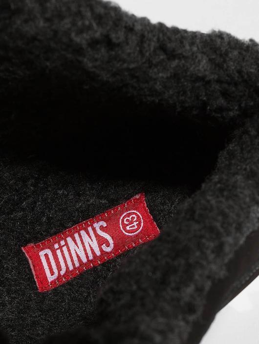 Djinns Chaussures montantes Wunk Fur Deff noir