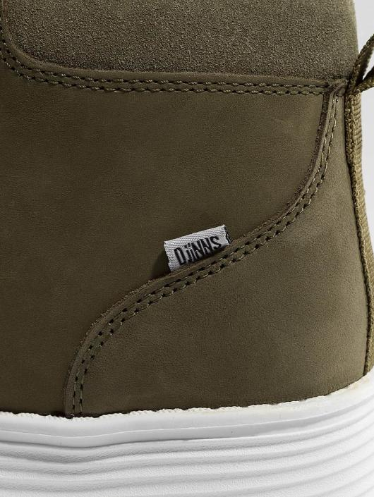Djinns Sneakers Trek High Light oliwkowy