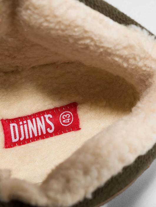 Djinns Zapatillas de deporte Wunk Fur Light marrón