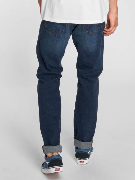 Dr. Denim Straight Fit Jeans James blå