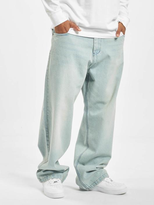 Ecko Unltd. Ventura Boulevard Baggy Fit Jeans Light Blue Vintage