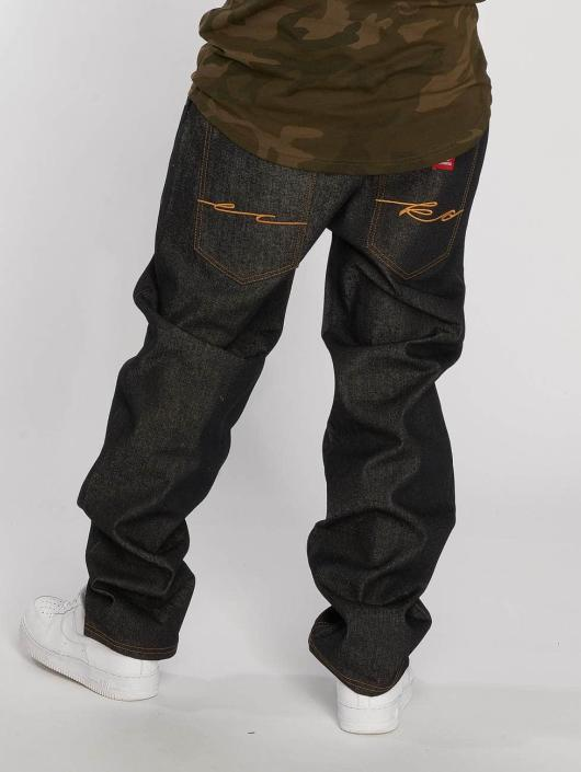Ecko Unltd. Loose Fit Jeans Hang schwarz