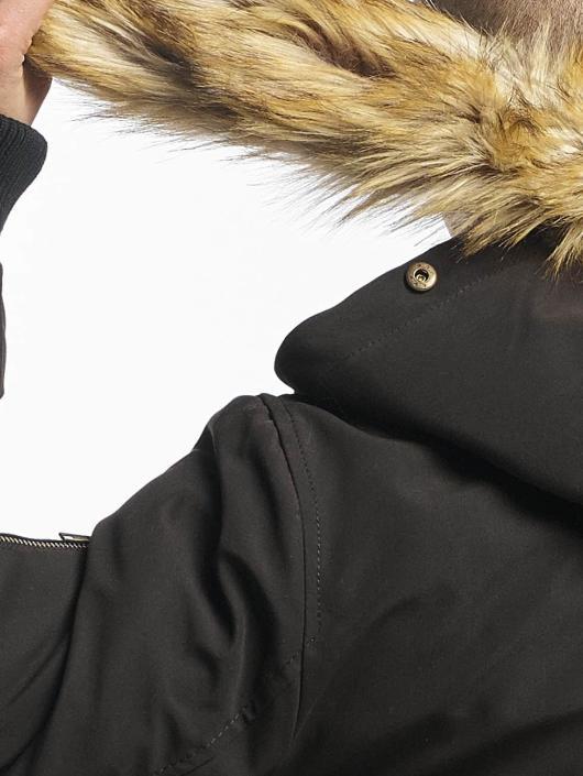 Ecko Unltd. Manteau hiver Collin Camou noir