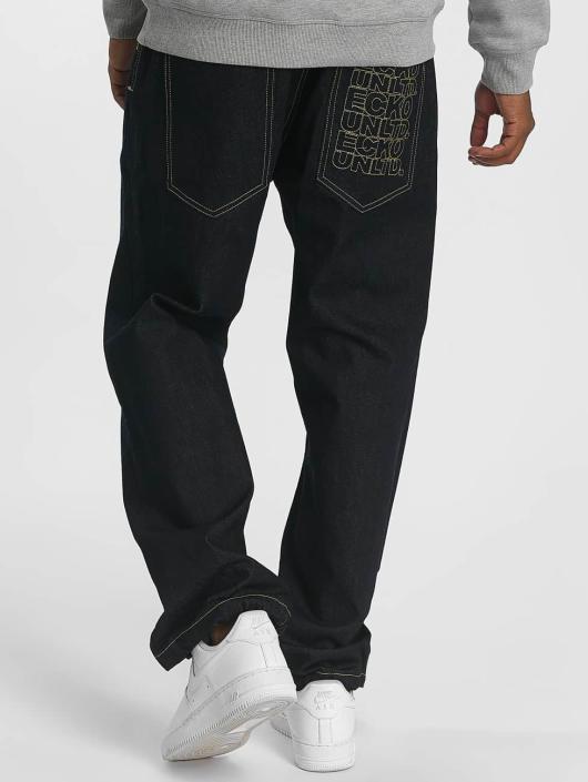 Ecko Unltd. Spodnie Baggy Gordon B indygo