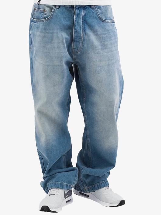 Ecko Unltd. Spodnie Baggy Fat Bro niebieski