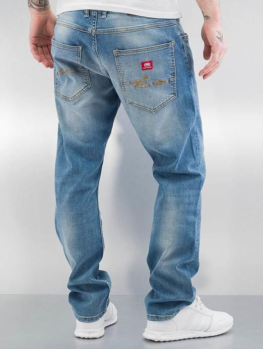 ecko unltd herren straight fit jeans soo in blau 303556. Black Bedroom Furniture Sets. Home Design Ideas